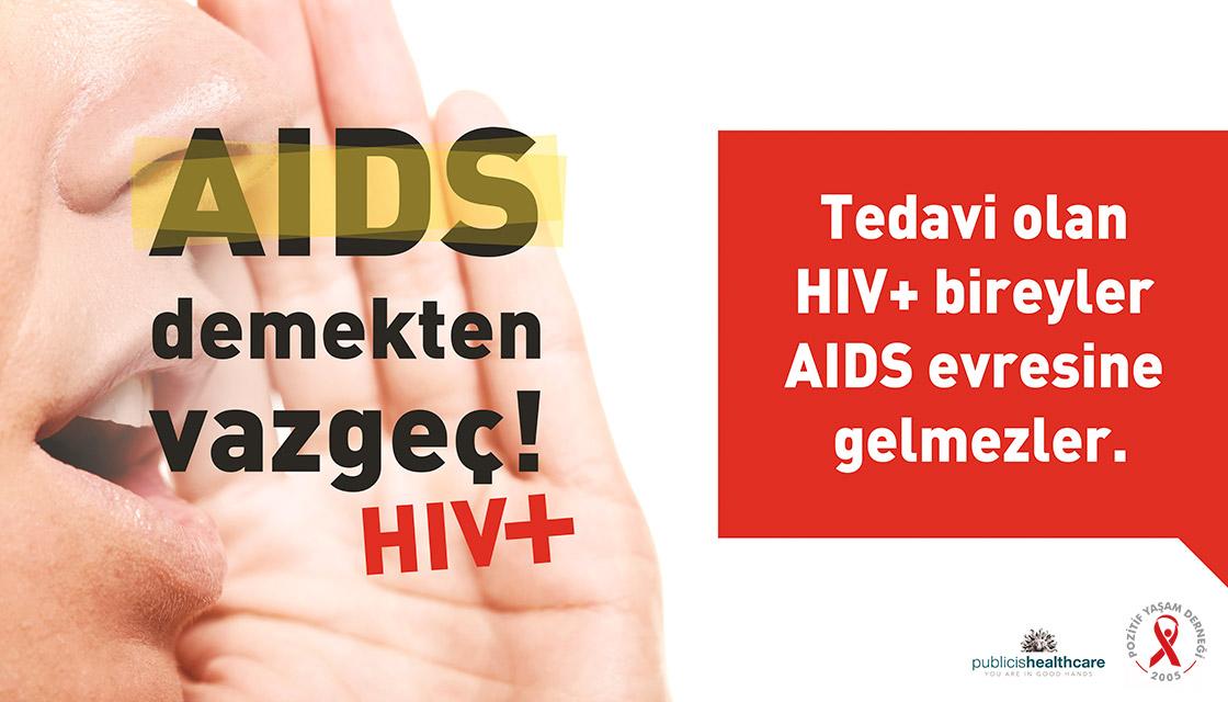 AIDS DEMEKTEN VAZGEÇ