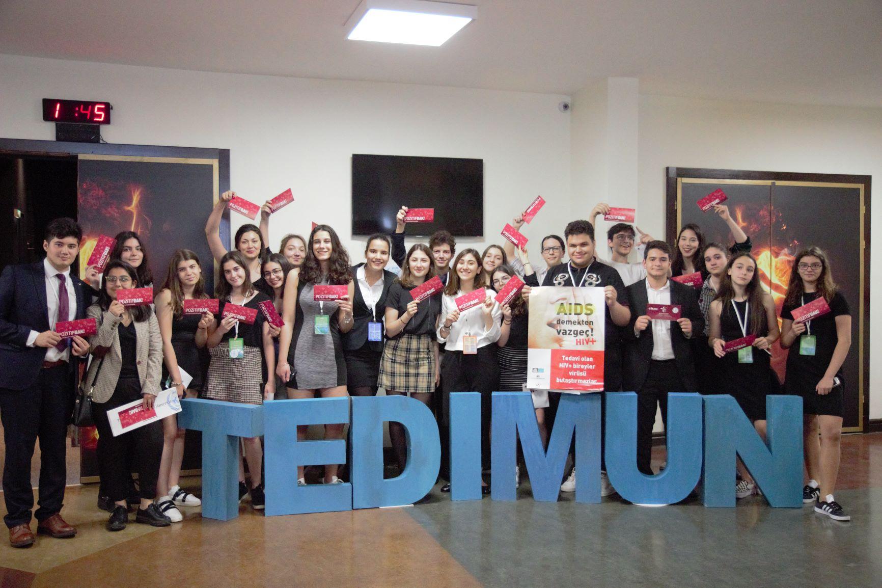 TED İstanbul Koleji Model United Nations HIV Farkındalık Sunumu, 25 Mayıs 2019