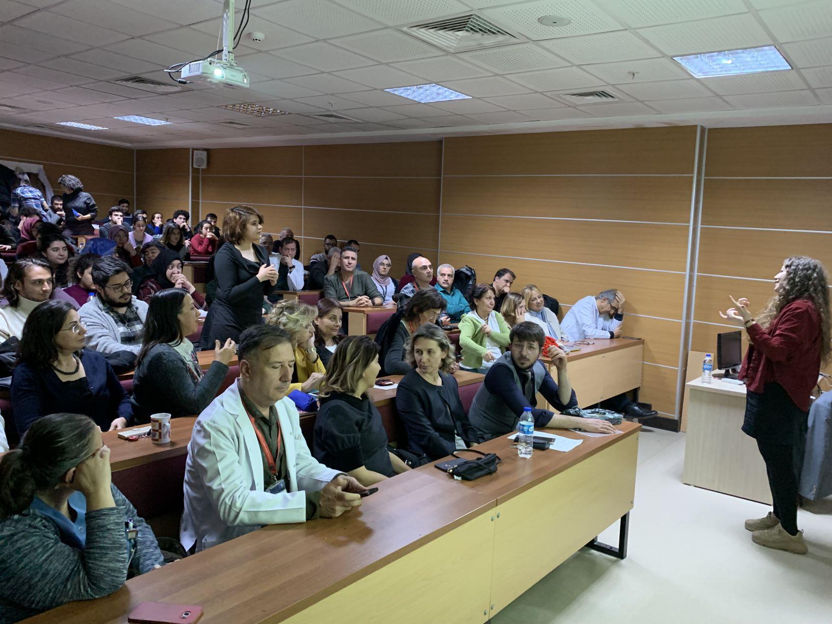 10 Aralık2019'daKırıkkale Üniversitesi Tıp Fakültesi'ndeydik!